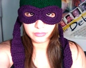 Teenage Mutant Ninja Turtles Convertible Beanie - Ready to Ship