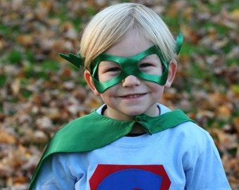 Superhero masks kids lightenbolt  or Princess mask Seen in INC Magazine