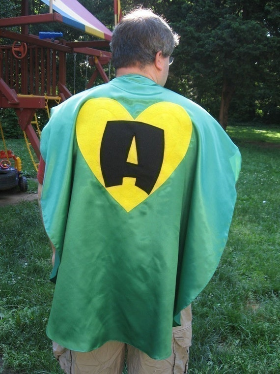 Adult Custom Superhero Cape Custom Adult size party favors Groomsman