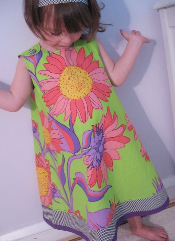 If I were fabric.. Dress Girls 4t LAST ONE SALE