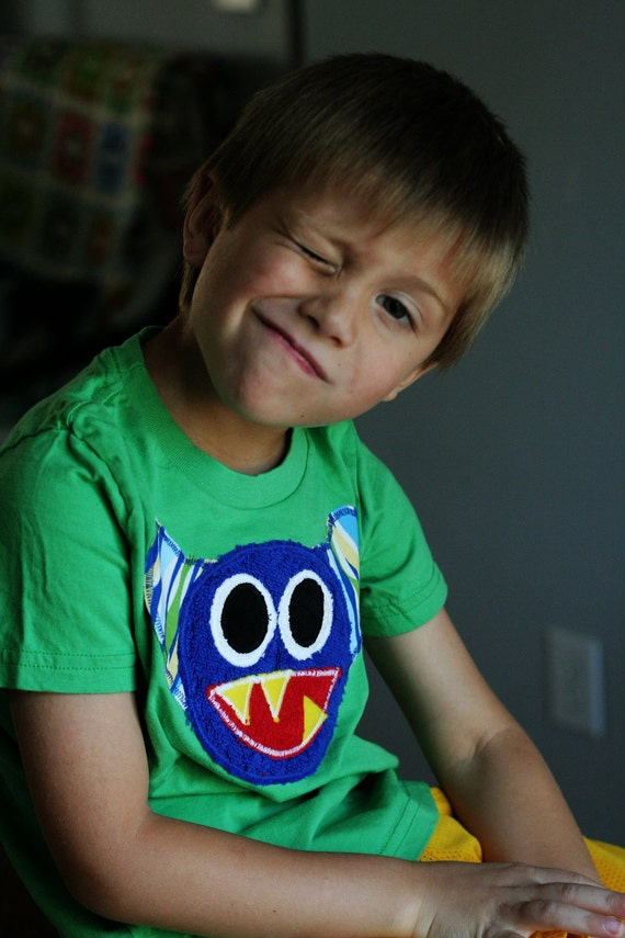 Griffin the Monster Tee sizes 2, 4, 6, 8, 10, 12