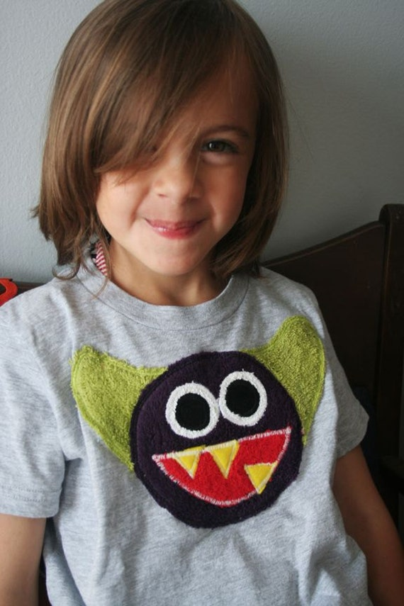 Stanley the Monster Tee sizes 2, 4, 6, 8, 10, 12, 14