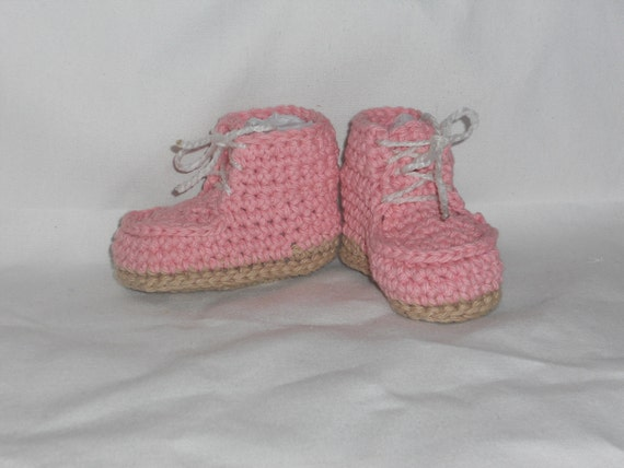 Pink Hiking Booties, size Small (6 month)