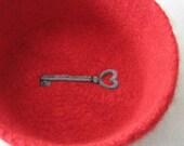 Skeleton Key to My Heart Bowl