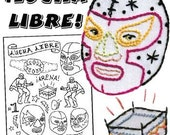 Sublime Stitching Pattern-LUCHA LIBRE (Mexican Wrestling)