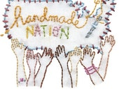 Handmade Nation Sublime Stitching Embroidery Pattern