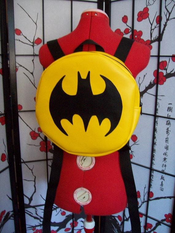 Batman inspired backpack