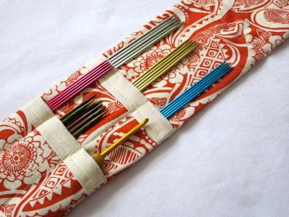 Sock DPN Needle or Crochet Hook Wallet, magnetic, long
