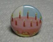 Birthday Cake Button
