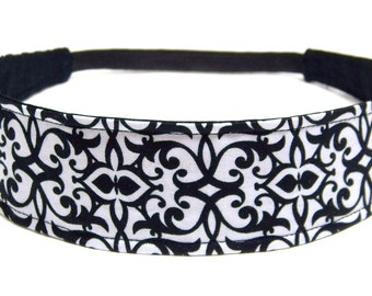 NEW  Reversible Fabric Headband Women -  KATE  -  Headbands for Women