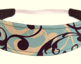 NEW - Reversible Fabric  Headband   -  DANIELLE  -  Headbands for Women