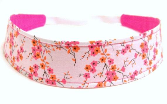 NEW  -  Reversible Fabric Headband   -  LAUREN  -  Headbands for Women