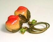 Vintage Crabapple Earrings