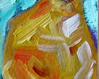 Original Oil Painting Pear ACEO Fine Art SALE