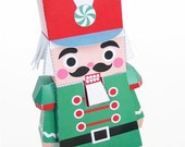 Nutcracker and Mouse King Holiday Toys Printable Paper Craft  PDF