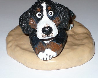 Custom Sculpture of your Dog, custom pet portrait in clay