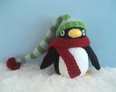 Amigurumi Knit Penguin Pattern Digital Download