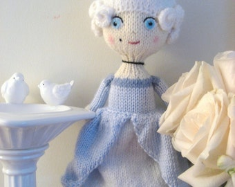 Amigurumi Knit Marie Antoinette Doll Pattern Digital Download