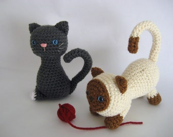Sale - Amigurumi Crochet Kitten Pattern Digital Download