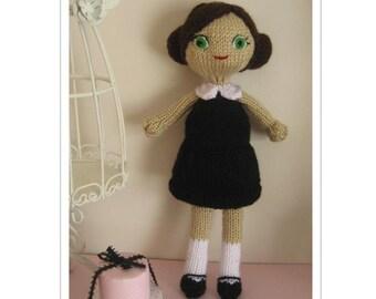 Amigurumi Knit Dani Doll Pattern Digital Download