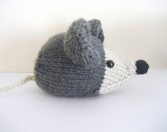 Amigurumi Knit Little Mouse Pattern Digital Download