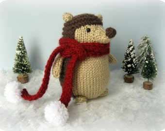 Sale - Amigurumi Knit Hedgehog Pattern Digital Download