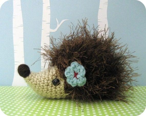 Sale - Amigurumi Crochet Hedgehog Pattern Digital Download