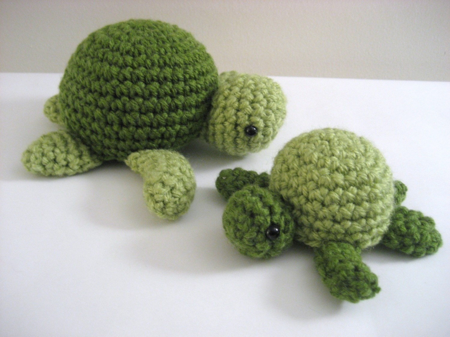Crochet Pattern Amigurumi Turtle : Amigurumi Crochet Sea Turtle Pattern Digital Download