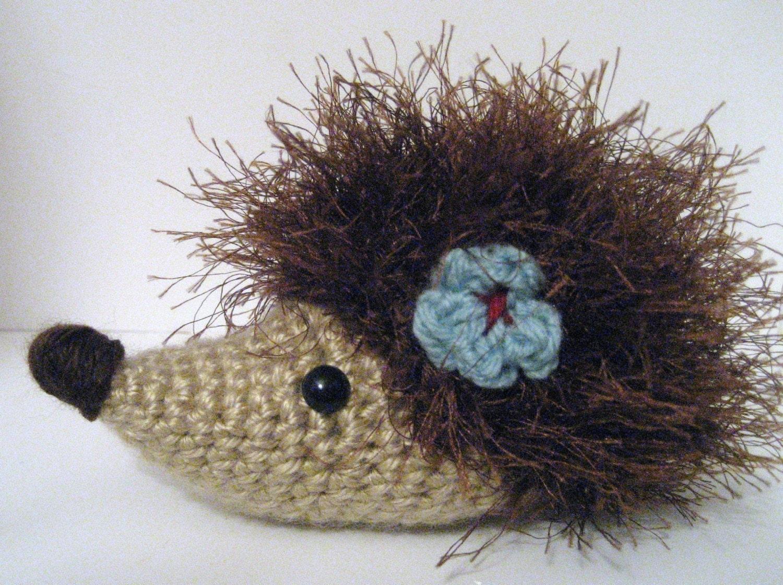 Amigurumi Eyes Australia : PDF Little Amigurumi Hedgehog Pattern by AmyGaines on Etsy