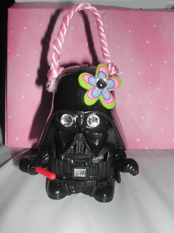 My little Vader ( Star Wars Darth Vader small coin purse)