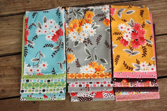 Sale, Flea Market Fancy Legacy by Denyse Schmidt, Complete Collection, Fat Quarter Bundle.  All 21 Prints and a Free Gift.