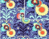 Amy Butler Love Paradise Garden in Periwinkle ,1 yd Quilt Apparel Fabric