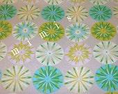 Sashi in Blue / Dena Designs KUMARI GARDEN  1 Yard Cotton Quilting Fabric