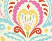 Dena Designs Fabric / KUMARI GARDEN / Sujata in Pink -  1 Yard Quilt Fashion Fabric
