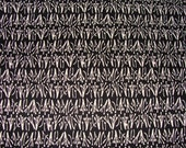 Joel Dewberry Stamen  in Black,,,, 1 Yard  Cotton Quilt Fabric,,,,,,OUT of PRINT