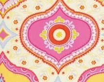 Dena Designs Fabric / KUMARI GARDEN / Chandra in Red / 1 Yard Quilt Fabric