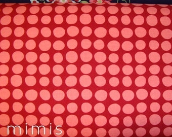 Amy Butler Fabric /  Sunspots in Wine /  LOVE Collection /  1/2 yd Quilt Apparel Fabric