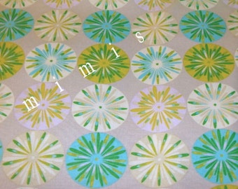 Sashi in Blue / Dena Designs KUMARI GARDEN  1 Yard Cotton Quilting Fabric  DISCONTINUED!!!  out of Print!