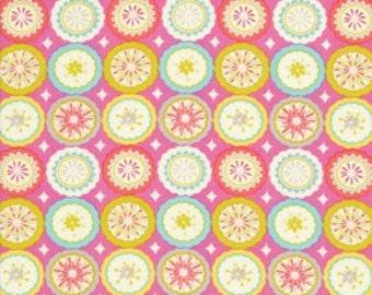 Dena Designs Fabric /  KUMARI GARDEN /  Lalit  in PINK - 1 Yard Quilt Fabric