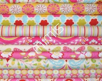 Dena Designs Fabric / 12 Half Yard  Bundle / KUMARI GARDEN / Cotton Quilt Fabric