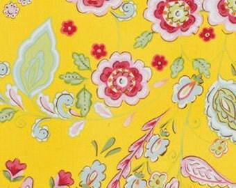 Dena designs fabric tea garden dream right in blue for Dena designs tea garden fabric