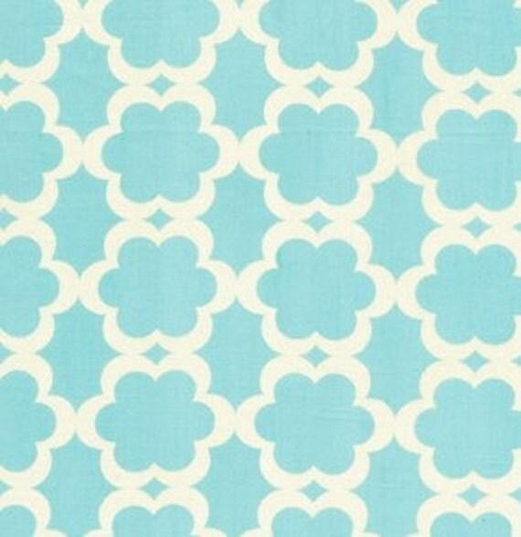 Dena Designs Fabric / KUMARI GARDEN /  Tarika in Blue  -1 Yard Quilt Fabric