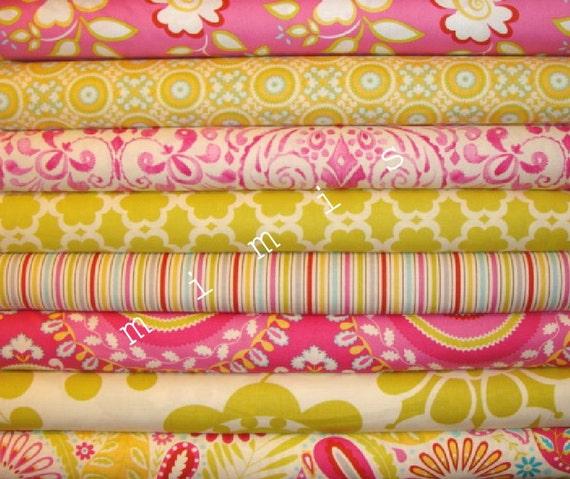 Kumari garden dena designs fabric marala in pink 1 for Dena designs fabric kumari garden