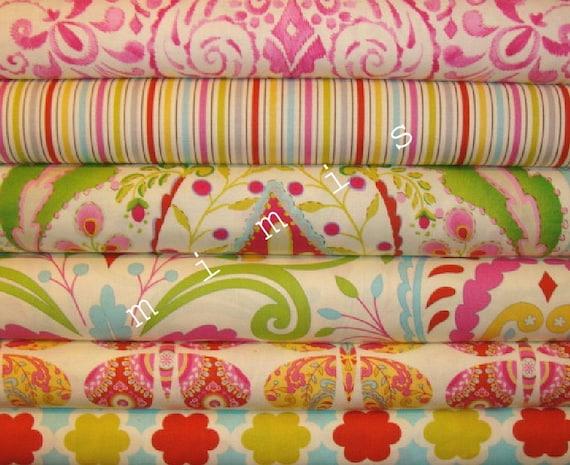 Items similar to dena designs fabric kumari garden 6 for Dena designs tea garden fabric