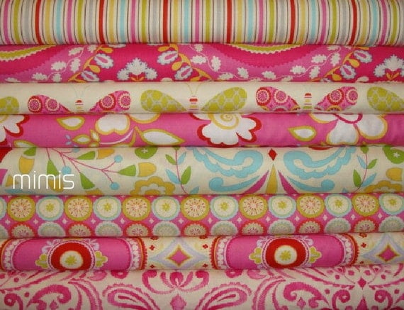 Kumari garden by dena designs 8 half yard bundle for Kumari garden fabric by dena designs