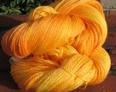 Saffron Sock Yarn