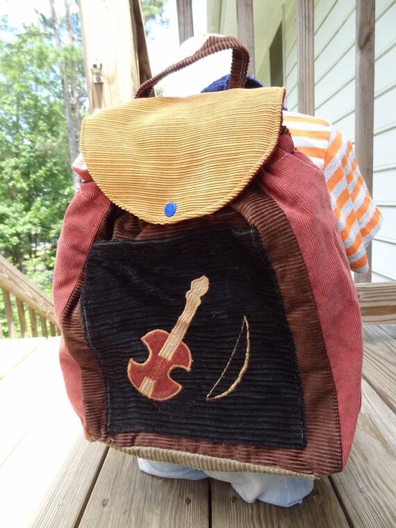 Big Kid Sized Backpack -- FIDDLE