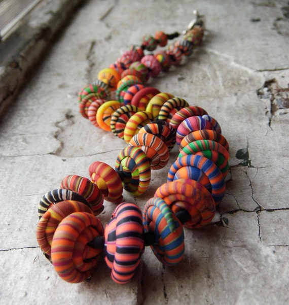 Hot Summer Stacker Bead Necklace