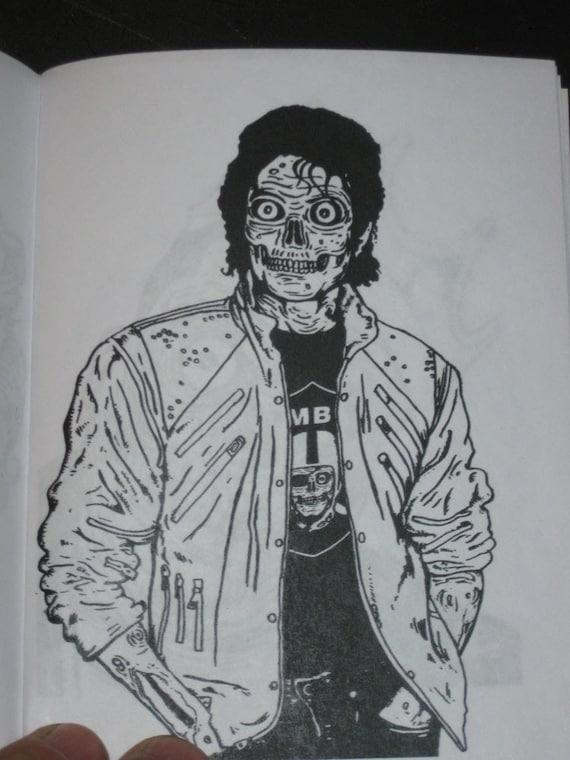 items similar to zombies pocket zombie coloring book on etsy - Zombie Coloring Book