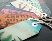 Recycled Record Album Gift Tags